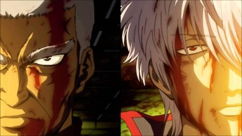 """""""Porrada gratuita. Gintama também é shounen pros desavisados"""""""